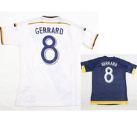 Cheap Free Shipping Mixed Team Drop Ship LA Galaxy Short Sleeves 2015 2016 Football Shirt Kits Soccer Jersey Fusbal Camisa Camiseta