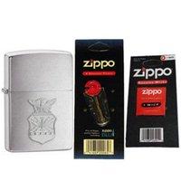 air wick - Zippo AFC US Air Force Crest Emblem Lighter Flints Wick