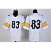 Cheap #83 White American Football Jerseys Cheap Athletic Apparel New Style Football Uniforms Fashion Team Sport Jerseys Outdoor Apparel Kits