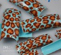 Full Natural Tips Oval Nail Tips Pre-Design artificial nails Half nails AIRBRUSH Acrylic FRENCH FALSE FASHION NAIL ART TIPS