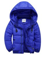 Wholesale child down coat male female child short design autumn and winter child down outerwear