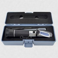 Wholesale RSG ATC Handheld Brix Refractometer Wine Wort Beer Brewing Refractometer Aluminum Sugar Degree Tester W ATC CTY01S K30
