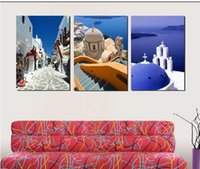 Cheap Modern Painting Decorative Art Picture Paint on Canvas Prints Charming alleys, beautiful dome, exotic amorous feelings of Islam