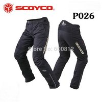 Wholesale SCOYCO P026 protective motorcycle riding pants Trousers waterproof windproof Motorbike racing Pant fall and winter cold and warm