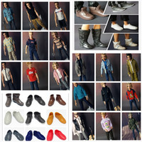 Wholesale NEW Arrival Fashionable KEN Clothes and Shoes Suits For Boyfriend Ken Dolls Denim Clothing Set Clothes suits Shoes