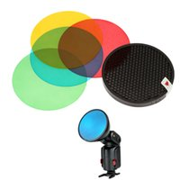 ad hdd - Godox AD S11 Colors Filter Gel Pack Honeycomb Grid Cover Reflector Kit for Witstro Flash AD180 AD360 order lt no track