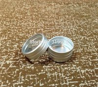 shipping container tin - g Aluminum Case g Round Matte Aluminum Can Aluminum Container Tea Tin with window lid