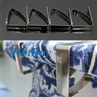Wholesale 4pcs Tablecloth Clip Table Cover Cloth Loaded Clamp Holder