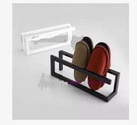 Cheap Ou, wrought iron shoe rack, ikea modern family practical slipper wearing dry shoes shelf at the door