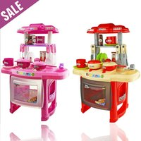 best play kitchens - Toys for kids years best kids combination classic pretend play children kitchen kids toys cooking toys pink kitchen sets