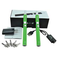 Cheap Electronic Cigarettes EVOD Dual Gift box e cigarette evod starter Kit e cig cigs ego Battery with MT3 Atomizer Vaporizer vape pen Kits