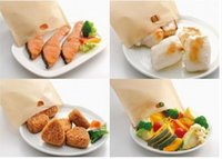 Wholesale PTFE Reusable Toaster Bag cm Non stick baking bag Toast heating bag pieces bag