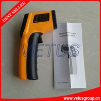 Wholesale Gun type Infrared Digital thermometer GM320 GM with temperature measuring range degree of backlight LCD