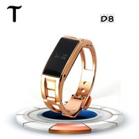 age metal - Bluetooth Luxury Smart Bracelet watch metal gold sliver smartwatch LED Digital Watch phone Compatible with iphone6S PLUS Samsung Smartpho