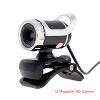 Wholesale New Arrival Megapixel HD Camera USB Webcame Web Camera Degree with MIC Clip on Webcame for Desktop Computer Laptop