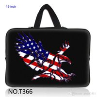 Unisex apple laptop usa - USA Flag Eagle Hot Laptop Sleeve Soft Case Bag Cover For inch quot Apple Macbook Pro Air