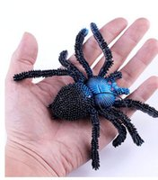 big layout - Halloween activities props the entire layout simulation animal big spider web for gags toys