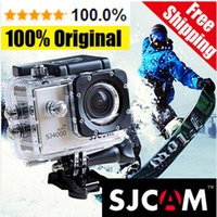 Wholesale SJCAM Original SJ4000 SJ Mini Camcorder Sport Action Camera Gopro Hero Style Car Recorder M Wifi Waterproof Degree Angle