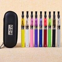 Ego CE4 électroniques Kits de cigarettes atomiseur 650 1,6 ml, 900, 1100mah Ego T Batterie Ego CE4 Démarrer Kits Zipper Case Free Ship