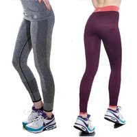 Wholesale 2015 High Stretch Women Sports GYM Leggings Fitness Leggings Outdoor Professional Running Pant Yoga Leggings Pants Gym Clothes Women