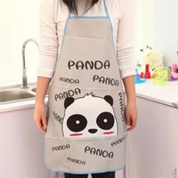 Wholesale Hot Seller Women s Lady s Pinafore Kitchen Restaurant Cooking Cleaning Tool Cute Carton PVC Size CM JA83
