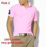 brand golf shirt - HOT Top quality men s fashion polos short sleeve brand t shirt casual shirt Quick drying T shirt sport golf shirt cotton us S XXL