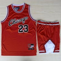 chicago bull - Bulls Chicago Jordan Jerseys Shirts Sets Red Jersey Shorts Suit Sport Clothes Sets
