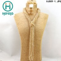 african beads - 2015 latest design beads necklace african beads jewelry sets a of different kinds of styles hefeng HJ009