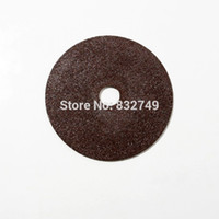 Wholesale 2x mm Dremel Accessories Diamond Grinding Wheel Dremel Saw Mini Cutting Disc Rotary Tools Flat Lap Grinding Disc order lt no track