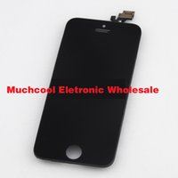 For Apple iPhone LCD Screen Panels  Front Assembly LCD Display Touch Screen For Iphone5S Digitizer Replacement Part for iphone 5S GSM & CDMA