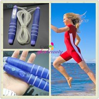 skipping rope with counter - Non slip Digital LCD Electric Fitness Jump Skipping Rope With Calorie Counter Timer Sport Workout High Quality