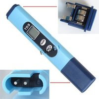 aquarium brands - Brand new and high quality Hydroponics Aquarium TDS Meter EC Conductivity Tester pen Hydroponics Water Purification