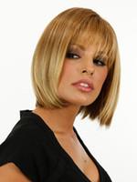 Wholesale Cosplay Wig Perruque synthetic Women Perucas Oombre Wig Blonde Perruque W8037 Anime Cosplay Pelucas