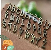 Wholesale 100pcs letters For handmade accessories material English letter DIY jewelry material bracelet necklace pendant handmade bead