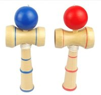 Wholesale Kendama Balls Strings Cups Pill Japanese Traditional Wood Game Toy Mini Education Toys Gift For Child Children Adult Size cm
