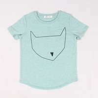 brand fashion t-shirt - 2015 New Casual Cotton Jersey Quirky Fun Style Short Sleeve boy s girls t shirts children kids Summer Fashion clothes Brand three Colors