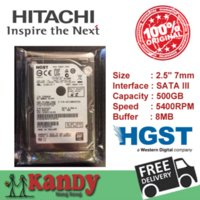 Wholesale Hitachi HGST GB SATA III inch notebook HDD hard disk drive HDD mm genuine Cache MB rpm Bulk Pack