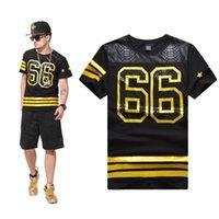 american flag t shirt - New styles hiphop good quality mens pyrex ktz short Sleeve t shirt summer fashion hba hip hop clothing medusa American Flag
