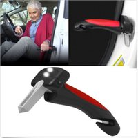 Wholesale 3 in Car Auto Handle Flashlight Glass Breaker Belt Cutter Portable Standing Aid