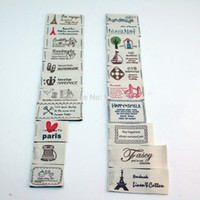 Wholesale Natural Cotton Styles Sewing Label Cloth Garment Fabric