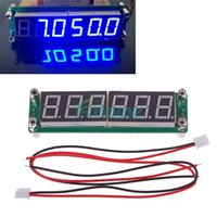 Wholesale 0 MHz to MHz RF Digit Blue Led Signal Frequency Counter Cymometer Tester HY
