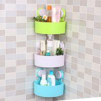 bathroom corner shower - Lovely Bathroom Corner Storage Rack Organizer Shower Wall Shelf with Suction Cup hot search