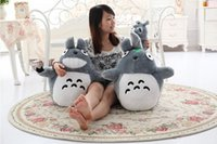 Cheap 2015 80cm Large New Cartoon Anime Totoro Plush Toys High Quality My Neighbor Totoro Pillow Plush Stuffed Animals Toys Gifts 2 Styles T2059
