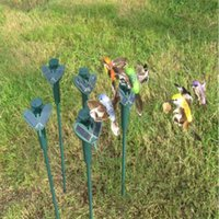 Wholesale Hot Solar Powered Dancing Flying Hummingbird Garden Path Lighting Decoration