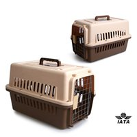 Wholesale Pet dog travel carrier airline approved x31 x30 cm Kennel Travel Dog Pet Crate Carriers