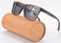 retro sunglasses - High Quality Wood Sunglasses So Real Bamboo Wood Wayfarer Sunglases Men Women Polarized Goggle Driving Glasses Retro Shade