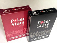 Wholesale High Quality Poker Stars Dull polish Waterproof Playing Card Games Frosted Poker cards Christmas Toy free DHL