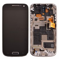 i9195 - 5pcs Free DHL Shipping LCD Display with Frame For Samsung Galaxy S4mini i9190 i9195 LCD Screen With Touch Screen Digitizer