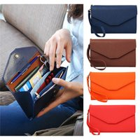 bags ticket - New Arrivals Men Women Document Travel Bag Wallet Purse Passport Ticket Holder PU Leather EK12