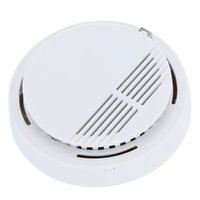 Wholesale High Sensitivity Stable Photoelectric Smoke Alarm Fire Smoke Detector Sensor Home Security System for Home Freeshipping order lt no track